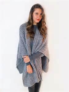 Free Poncho Crochet Pattern Ruana