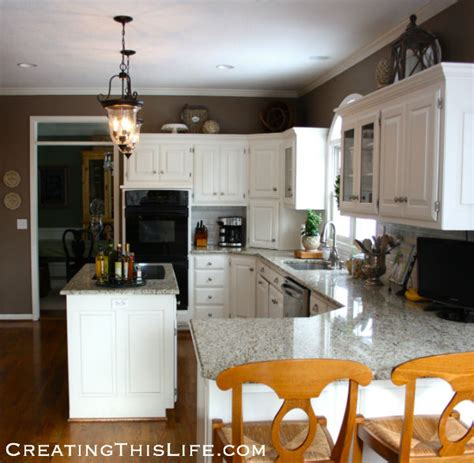 Decorating Ideas For Kitchen Counters - that space above the cabinets creating this life