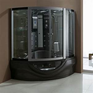 Douche Salle De Bain : combi douche baignoire hammam black tahiti ~ Melissatoandfro.com Idées de Décoration