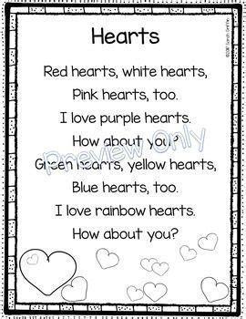hearts valentines day poem for school 595 | 48e0833755bc067acd4f85e3341e3543