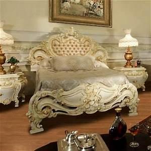 Ornate Antique Beds And Bedroom Sets For An Opulent Old
