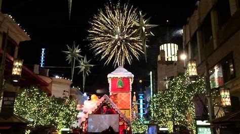 christmas tree lighting at the grove 2014 youtube