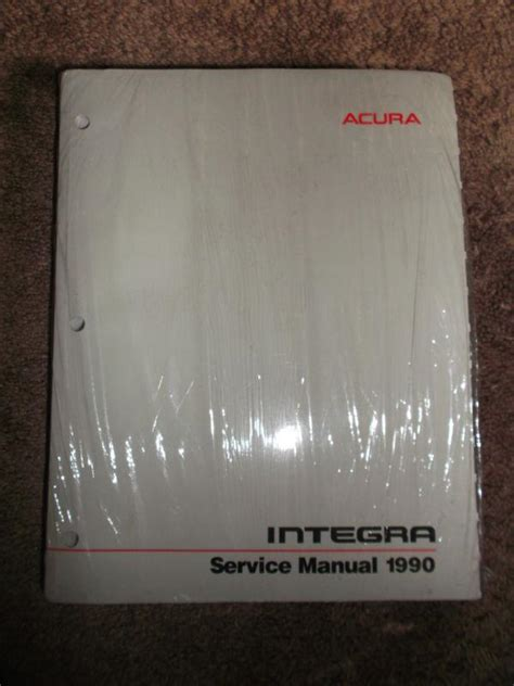 free service manuals online 1997 acura integra electronic toll collection find 1990 acura integra service repair shop manual oem book dealer factory motorcycle in utica