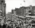 "Buffalo, New York, 1900. ""Labor Day parade crowd, Main ..."