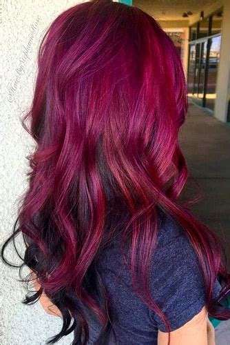 burgundy hair color shades   india