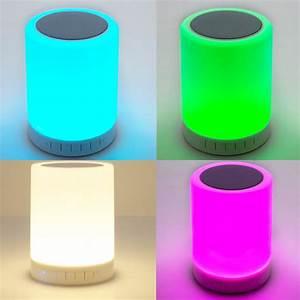 Lampe Sans Fil Deco : centre de table sans fil bluetooth salsa deco lumineuse ~ Teatrodelosmanantiales.com Idées de Décoration