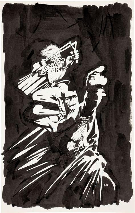 Original Frank Miller Dark Knight Cover Art Offered In