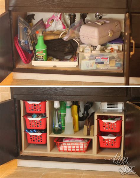 The Kitchen Sink Storage Ideas by 15 Dollar Store Organization Ideas For Every Area In Your Home