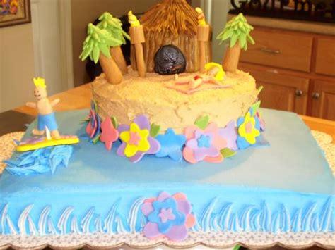 Hawaiian Cake Decorations by Hawaiian Birthday Cake Decorating Ideas Best Birthday Cakes