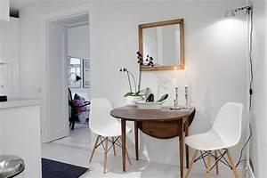 Esstisch Für Kleine Räume : klappbarer esstisch aus holz f r kleine r ume wohnen ~ Lizthompson.info Haus und Dekorationen