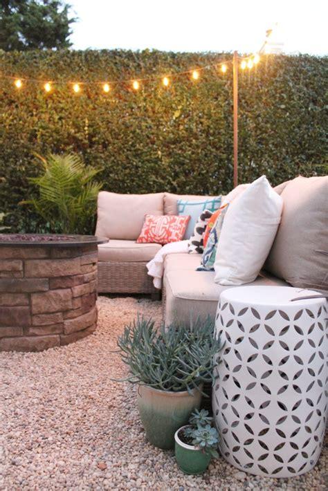 easy way to make a patio create a diy pea gravel patio the easy way city farmhouse