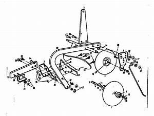 Craftsman Sears 8 In Moldboard Plow Parts