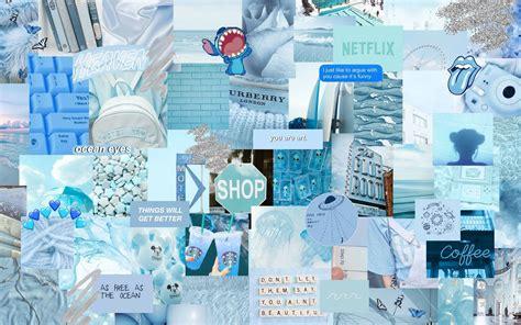 light blue aesthetic wallpaper free sky blue
