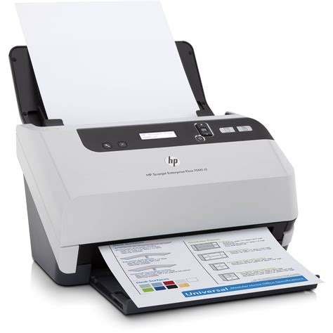 hp scanjet enterprise flow 7000 s2 sheet feed scanner