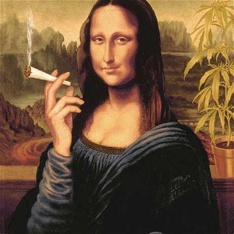mona lisa smoking poster stoner toolbox
