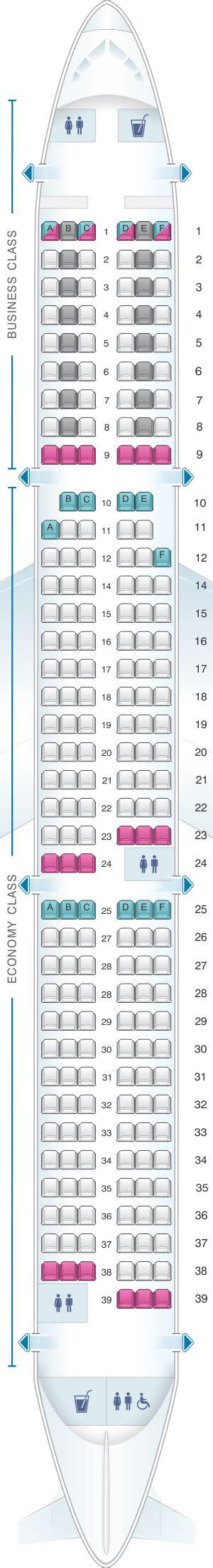 swiss siege seat map swiss airbus a321 100 200 seatmaestro