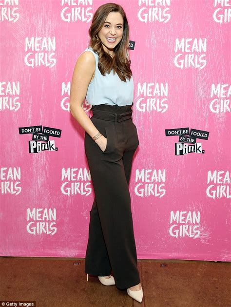 tina fey fan mail cast of tina fey s mean girls musical promote premiere