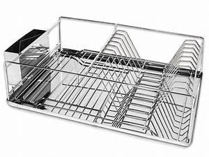 Geschirr Abtropfgestell Kunststoff : geschirr abtropfgestell aus edelstahl frida ~ Michelbontemps.com Haus und Dekorationen