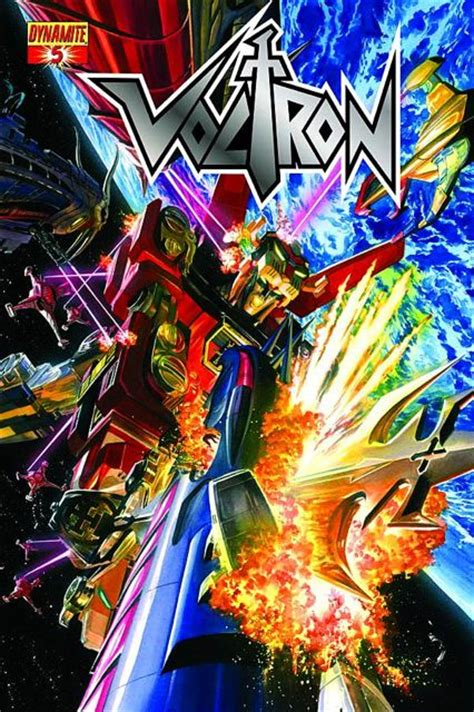 voltron covers dynamite alex issue ross comic comics entertainment con nick president say cartoon volume lion