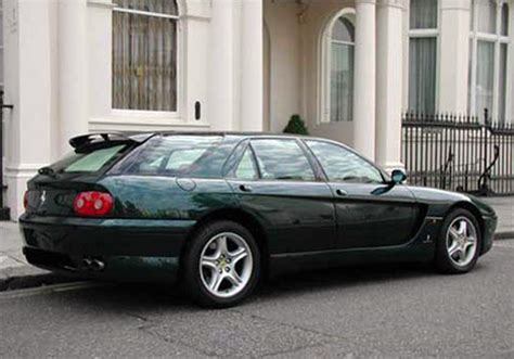 This website is not in any way connected to any of the brands or websites it links to. COACHBUILD.COM - Pininfarina Ferrari 456GT Venice Estate