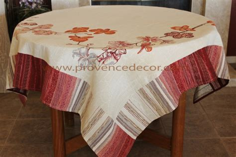 french jacquard table runner orchids red french jacquard woven tapestry tablecloth
