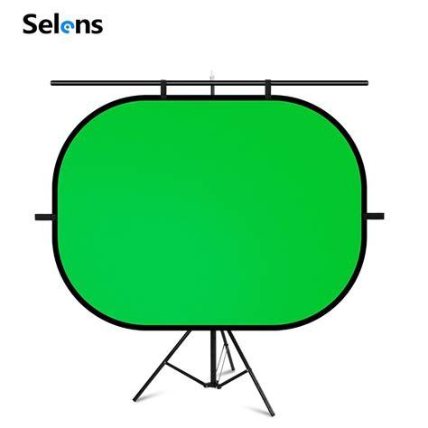 Selens Chromakey Green Screen ฉากหลังสีเขียวขนาดใหญ่ ...