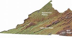 Map Of Appalachian Plateau Region Of Virginia Pictures to ...