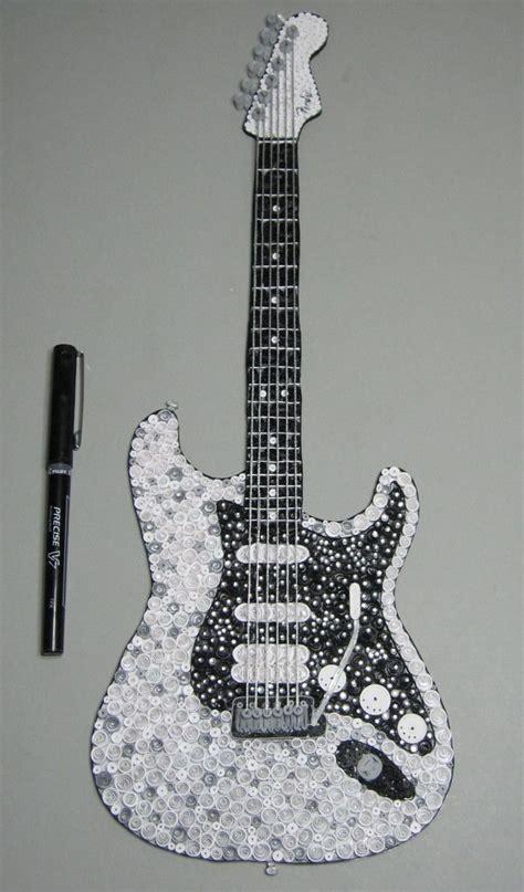 quilling guitars images  pinterest quilling