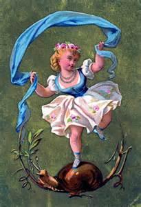 Vintage Public-Domain Fairies