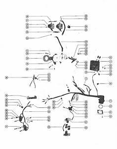 Mercury Marine Model 800 80 Hp  6 Cylinder  Starter Motor  Starter Solenoid  Rectifier  U0026 Wiring
