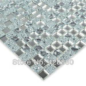 crystal glass wall tiles mirror tile backsplash kitchen
