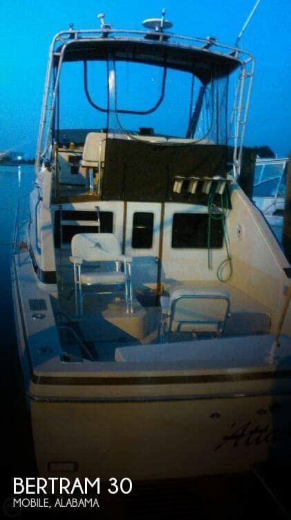 Used Boats Mobile Al by 30 Foot Bertram 30 30 Foot Fishing Boat In Mobile Al