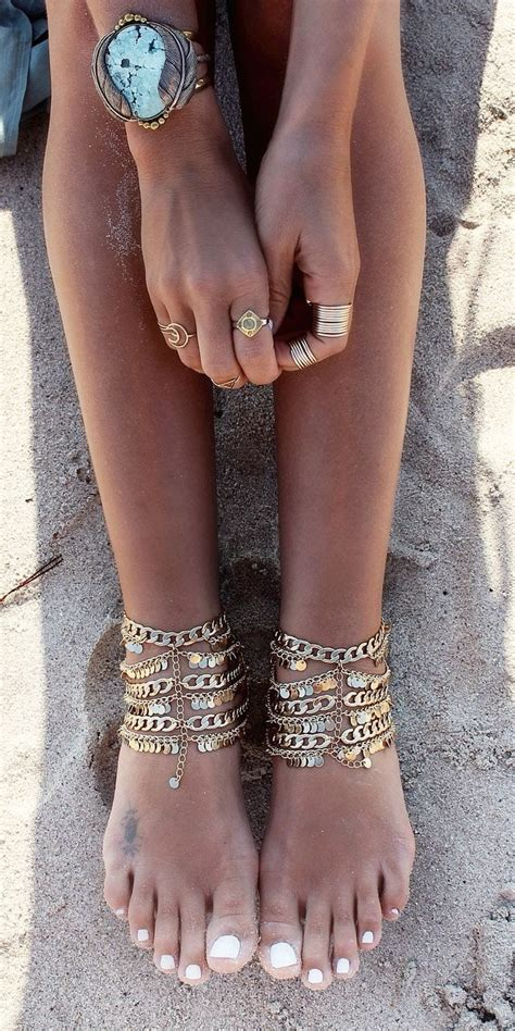 24 Latest Ankle Chains Fashion And Ideas To Wear Foot Anklets. Crystal Necklace Pendant. Cuff Bangle Bracelet. Radiant Diamond Rings. Promise Rings. Handless Watches. Deep Blue Sapphire. Baguette Stud Earrings. Le Vian Diamond