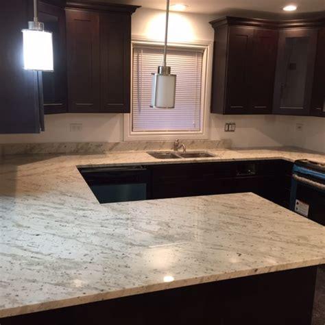 river white granite counterop stone city kitchen bath