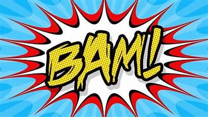 Pop Comic Poster Bam Create Photoshop Tutorial