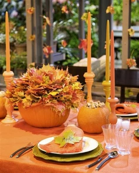 autumn table decoration ideas 52 cool fall party d 233 cor ideas digsdigs