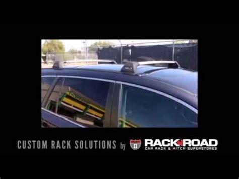 rack n road the tailored fit custom racks for subaru outback by rack