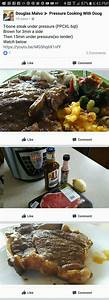 Pot Roast Cooking Time Chart Tbone Steak Instant Pot Recipes Pressure Cooker Steak