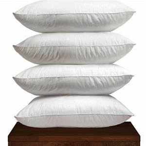 duck feather pillows shopsmart online With best non feather pillows