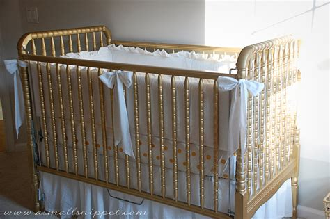 how to put a crib together without ruffled crib bumper a small snippet