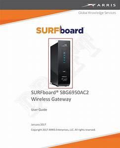 Arris Group Sbg6950 Wireless Telephony Gateway User Manual