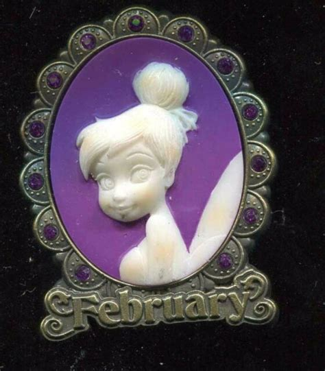 Tinker Bell Birthstone Cameo Collection 2012 February ...