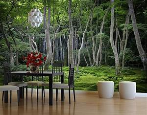 Fototapete Wald Japanischer Wald Selbstklebende