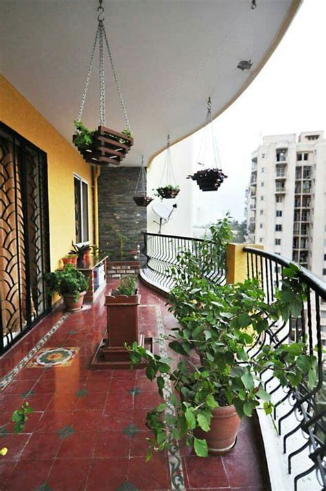 balcony athanuid tiles spaces home decor indian home