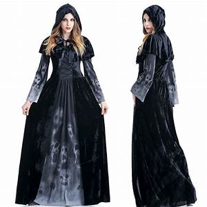 popular witch s costume buy cheap witch s costume lots With robe halloween femme