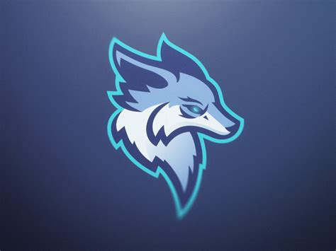 kitsune mascot logo  ania de herrera dribbble dribbble