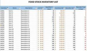 Stock Take Template  U2013 Inventory Spreadsheet Excel  U2013 Excel