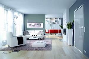 Blau Grau Farbe : raumgestaltung farben beispiele ~ Eleganceandgraceweddings.com Haus und Dekorationen