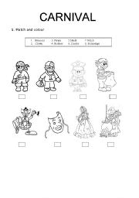 Math Worksheets For Preschool Carnival Math Best Free
