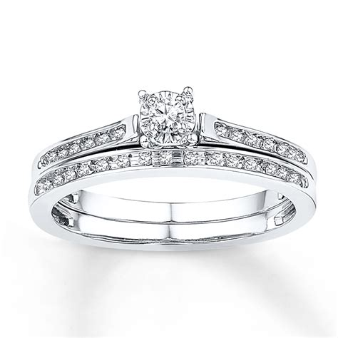 bridal 1 8 ct tw cut 10k white gold 99138200799 kayoutlet